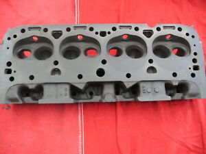 1965 Smallblock Chevy 327 Head 461 Casting 3782461 Date Code F55 Bare Head