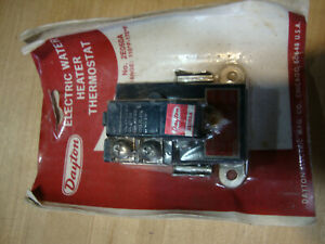 Dayton 2e050a Electric Water Heater Thermostat 110f 170f