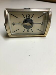 1940 Lincoln Continental Original Dashboard Clock W bezel And Glass