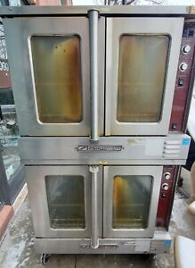 Southbend Slgs 22sc Double Stack Convection Bakery Pizza Oven Gas 115v Tested