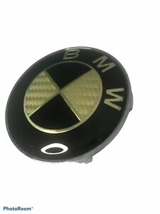 Bmw Gold And Black Color Center Wheel Cap Used Good Condition