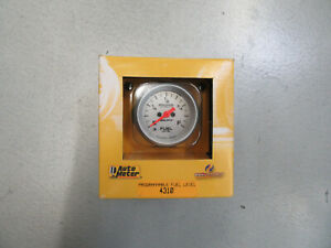 Autometer 4310 Pro comp Ultra lite Electric Fuel Level Gauge 2 1 16