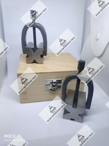 Precision Engineers Vee Block Clamp Set V Block Set Of Two Pc 1 5 8 X 1 1 4