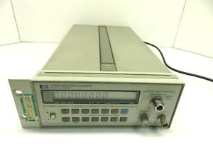 Hp Hewlett Packard Agilent 5386a Frequency Counter With Option O 004