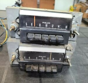 68 1968 Oem Mustang Cougar Philco Am Radio Core For Parts Not Working