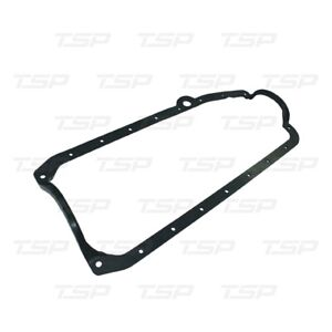 Small Block Chevy 1955 1979 Black One Piece Oil Pan Gasket Driver Side Dipstick