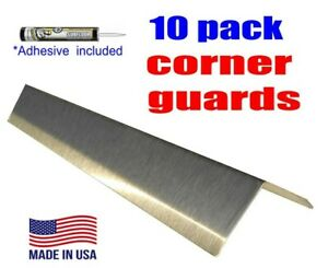 Stainless Steel Corner Guard Angle 2 X 2 X 48 Wall Protection