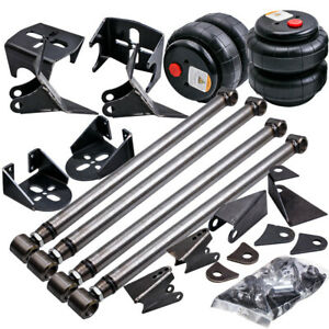 Triangulated 4 Link Kit Brackets 2500 Bags Air Ride Suspension 2 75 Axle Mount
