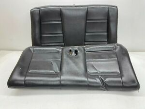 1999 2004 Oem Ford Mustang Convertible Rear Seat Back Seat Charcoal S9373