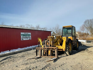 1999 Caterpillar Th83 4x4 8000lb Telescopic Forklift W Cab Cheap
