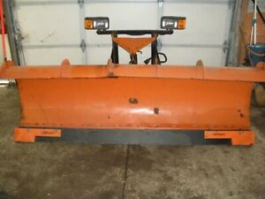 Fisher Snow Plow 8 Foot Almost New Cutting Edge Blade Hd