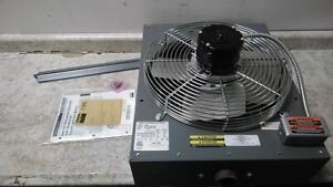 Dayton 5pv53 120vac Suspended Horizontal Hydronic Wall Ceiling Unit Heater c