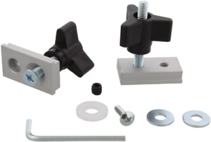 Miter Track Slot Fixture Hardware Table Saw Router Disc Sander Feather Board Jig