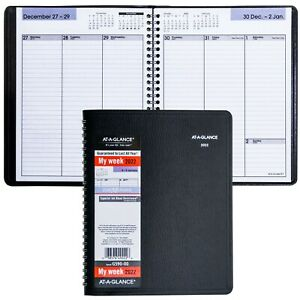 2022 At a glance Dayminder G590 00 Weekly Planner With No Appointment Times
