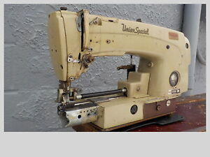 Industrial Sewing Machine Model Union Special 63 900 cylinder Jeans
