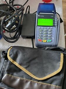 Verifone Vx 610 Credit Card Machine Wireless With Charger And Case