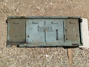 Jeep Willys M38 Military Tailgate