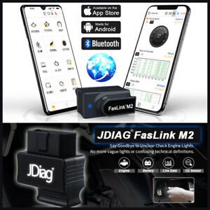 Brand New For Ios android Obd2 Bluetooth Scanner Car Code Reader Engine Detector