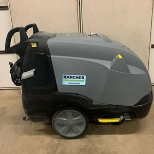 Used Karcher Hds 3 5 30 4m Ea 1ph diesel 3gpm 3000psi Hot Water Pressure Washer