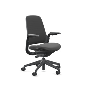 Steelcase Series 1 Office Desk Chair 3d Knit Licorice Black Brand New