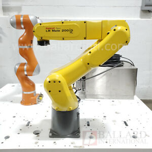 Fanuc Lr Mate 200id 7l Robot W R30ib Mate Controller Complete Working System