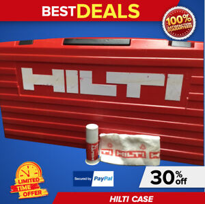 Hilti Case For Te 805 Te 905 Te 1000 Avr kit Box Only Preowned Fast Ship