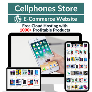 Cellphones Store Amazon Affiliate Dropshipping Website With 1000 Products