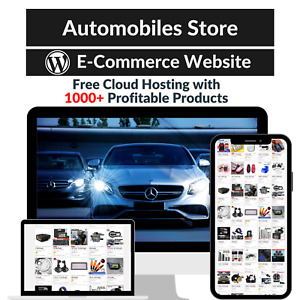 Automobiles Store Amazon Affiliate Dropshipping Website With 1000 Products
