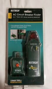 Extech Cb10 Ac Circuit Breaker Finder receptacle Tester
