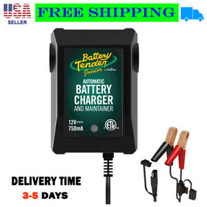Deltran Battery Tender Jr 12v 750ma Maintainer Charger New Free Shipping