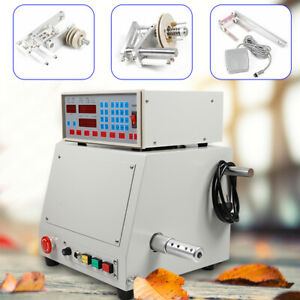 Computer Cnc Automatic Coil Winder Winding Machine For 0 03 1 2mm Wire 220v
