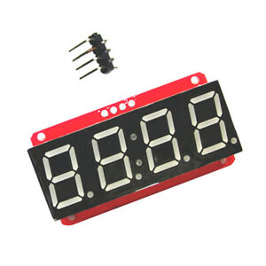 4 digit Led Screen Module Board 13 Pins Components Diy Replacement Supplies
