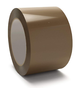 1 144 Rolls Of Tan Brown 2 X 110yd Packing Shipping Tape 2mil Thick