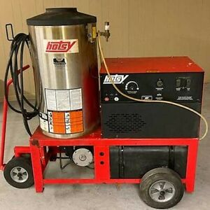 Used Hotsy 980ss 1ph Diesel 4gpm 2000psi Hot Water Pressure Washer
