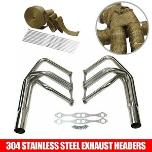 For Small Block Chevy Sbc T Roadster Sprint Roadster Headers Wrap New