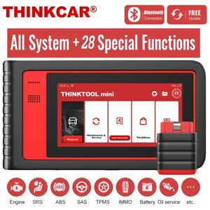 Thinktool Mini Obd2 Diagnostic Scanner Tool Full System Tpms Dpf Immo Key Coding