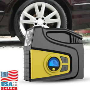 Portable Heavy Duty 12v Car Tyre Auto Tire Inflator Pump Air Compressor Us Stock