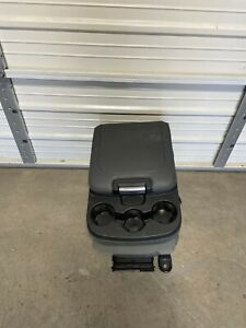2003 2018 Dodge Ram 1500 2500 3500 Center Jump Seat Console Grey Cloth