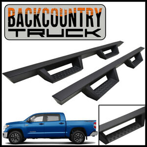 Backcountrytruck Drop Nerf Step Bars Fit 2007 2021 Toyota Tundra Crewmax Cab