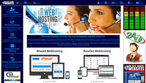 Ready Made Reseller Hosting Website Style 3010 Free Billing System Included