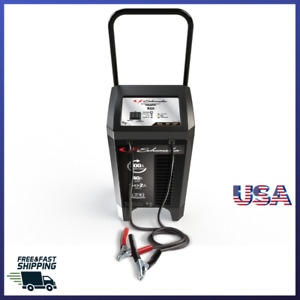 Battery Charger Electric Wheel 200 Amp Automotive Dead Portable Jump Start Car