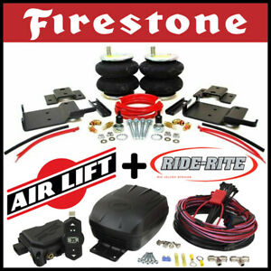 Firestone Riderite Air Kit Airlift Wireless Air Compressor For 15 20 Ford F 150