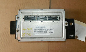2003 Jeep Liberty Engine Computer Ecu Ecm 3 7l At 42rle W 90 Day Warranty Oem