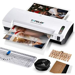 Laminator Machine Topelek 5 in 1 A4 Thermal With 30 Laminating Pouches Paper