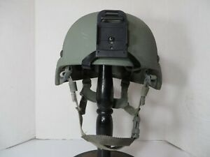 LARGE early GENTEX US Army ACH MICH Helmet with NV mount L 5 $359.95