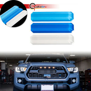3colors Front Grill Emblem Decal Stickers Decor For Toyota Tacoma 4runner Tundra Fits 2009 Toyota Tacoma