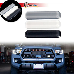 3x For Toyota Tacoma 4runner Tundra Tri Color Front Grill Emblem Stickers Decor Fits 2009 Toyota Tacoma