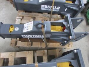 Mustang Hm150 Hydraulic Hammer Excavator And Backhoe Attachment
