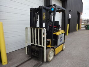 2013 Yale 4 500 Pound Capacity Electric Forklift Model Erc045 In Nice Condition