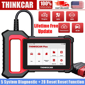 Automotive Obd2 Scanner Car Diagnostic 5 System Srs Abs Tpms Dpf Epb Code Reader